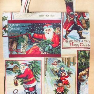 Boodschappentas kerstman