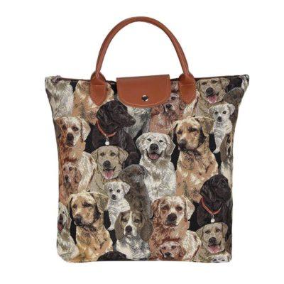 vouwtasje hond labrador