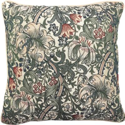 Kussenhoes Gouden Lelie ( William Morris)