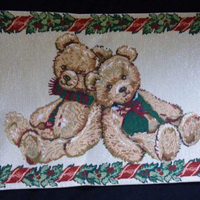 placemat kerstbeer