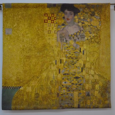 Exclusief wandkleed - Gustav Klimt - Woman in Gold - 100 x 100 cm
