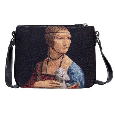 Schoudertas - De dame met de Hermelijn - Leonardo Da Vinci