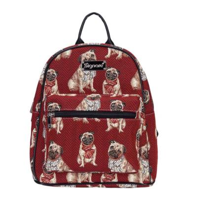 Daypack rugtas Pug (mopshond)