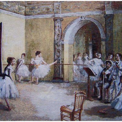 Wandkleed - Ballet Class - 69cm x 89cm - Edgar Degas