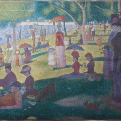 Wandkleed - A Sunday Afternoon on the Island of La Grande Jatte - Georges Seurat