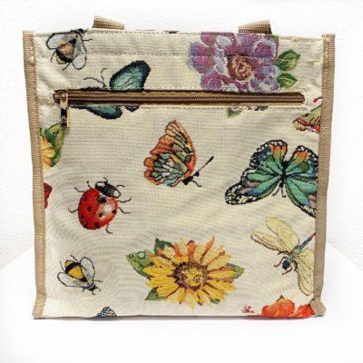 vlinder / bloemen