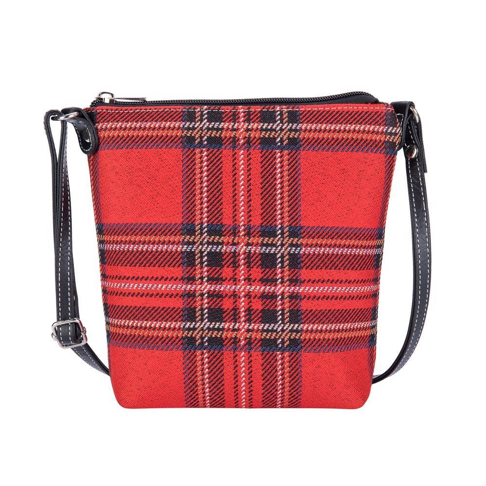 Elegant smal tasje Royal Stewart Tartan - Schotse Ruit