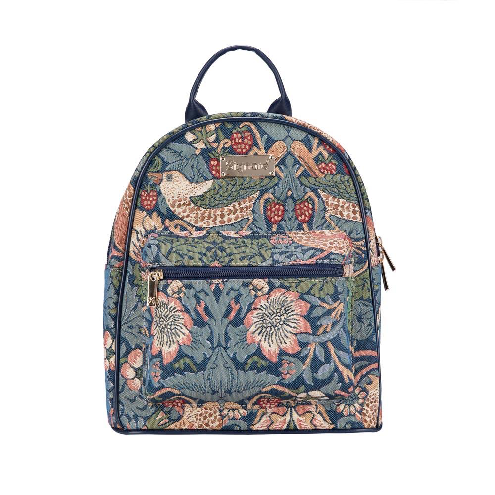 Daypack rugtas – Strawberry Thief Blue - William Morris