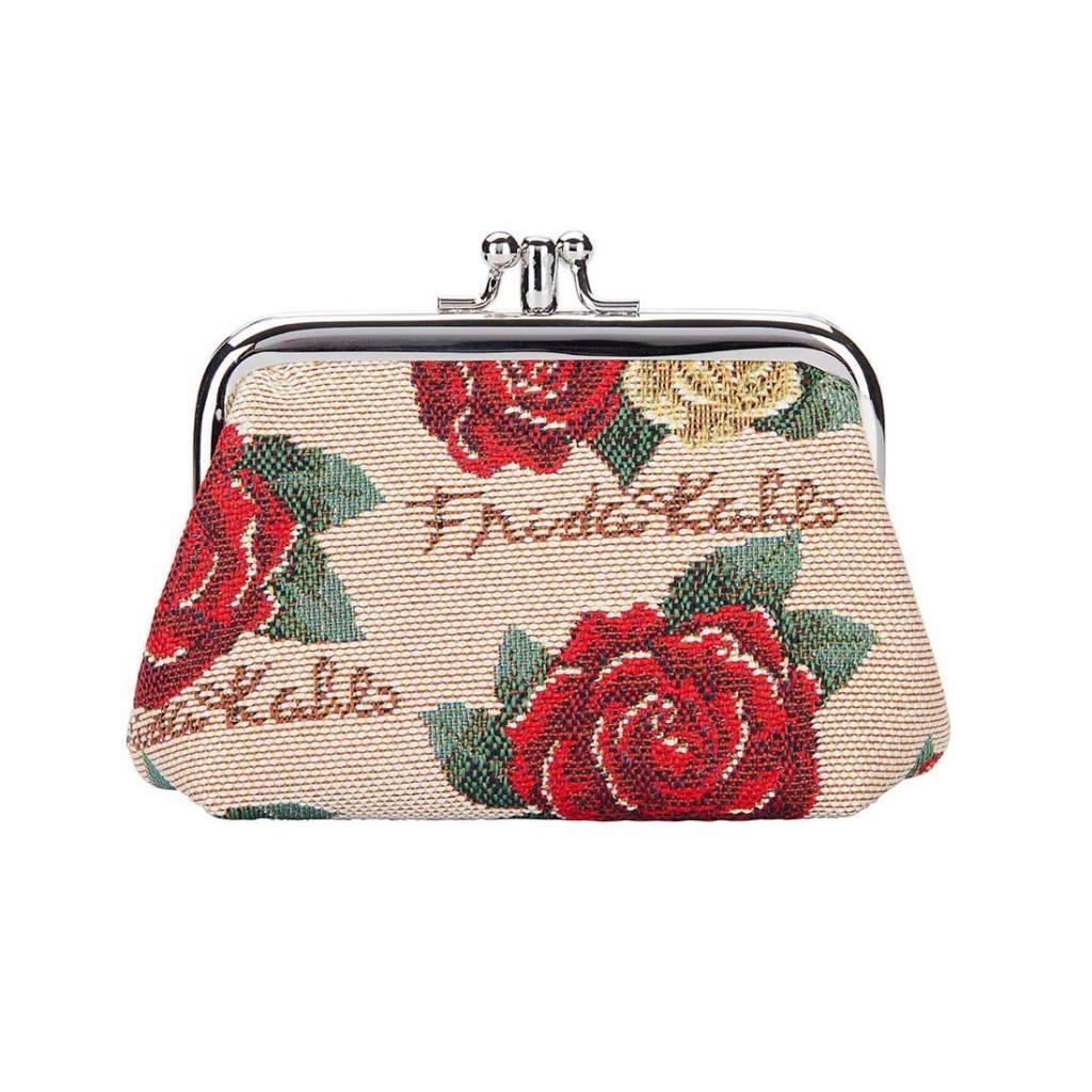 Portemonnee klip – Frida Kahlo Rose