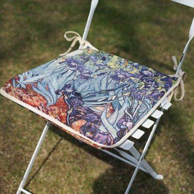 Stoelkussen - Art - Iris - Vincent van Gogh - per 2