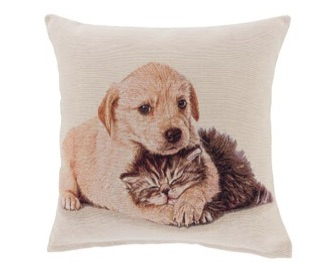 Kussenhoes - Kat en Hond - Pet Friends