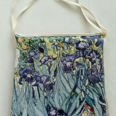 Stoelkussen -Art - Iris - van Gogh