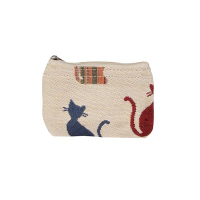 Ritsportemonnee - Cheeky Cat - Katten