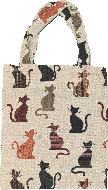Boodschappentas - klein - Cheeky Cat - Katten - Kat