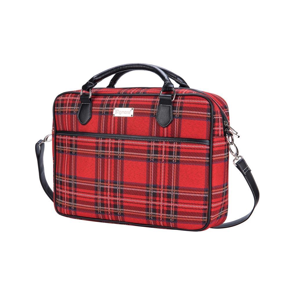 Laptoptas - Royal Stewart Tartan - Schotse Ruit