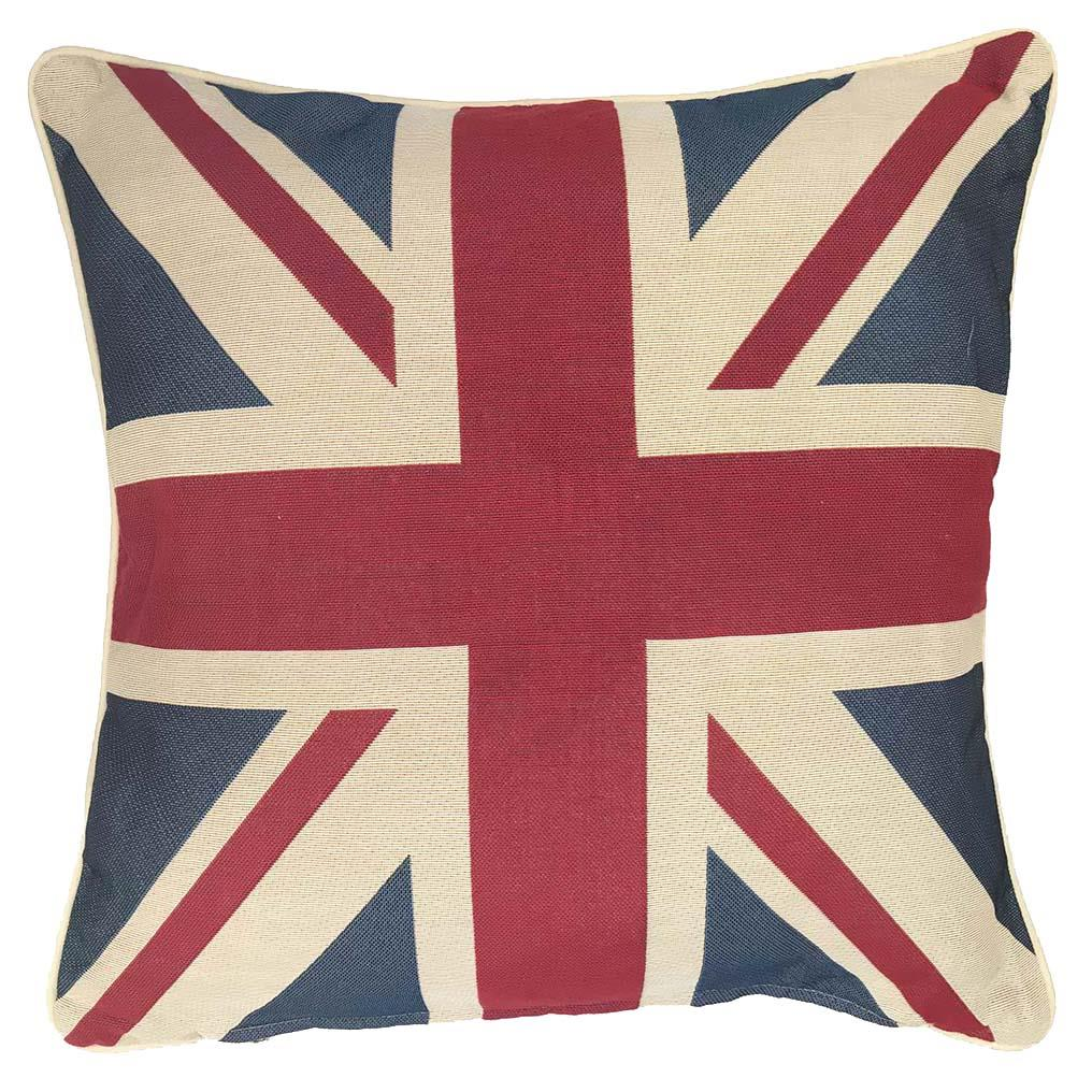 Kussenhoes - Luxe gobelinstof - Union Jack - Engelse Vlag