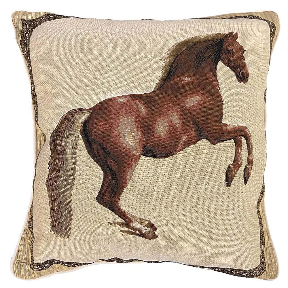 Kussenhoes - Luxe gobelinstof - Whistlejacket - George Stubbs - Paard